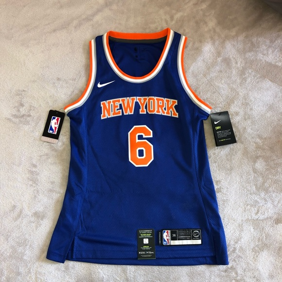 reputable site 89f4b ee35e OFFICIAL New York Knicks NIKE Jersey Wmns Sz S NWT